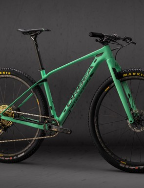 Orbea admits the Alma M-LTD won't be for everyone with a rigid fork. Lucky the rest of the range comes with Fox Float 32 forks