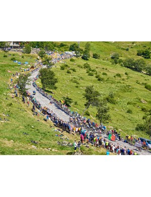 Alpe d'Huez is arguably the most iconic climb in the Tour de France