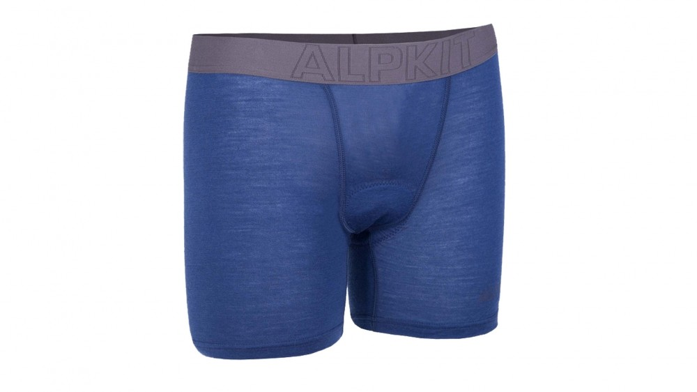 These Keplar boxers from Alpkit are made from comfy Merino