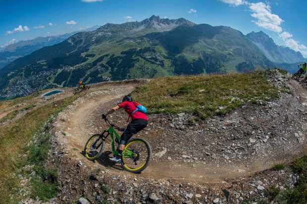 What could be better than shredding dusty trails in Europe this summer?
