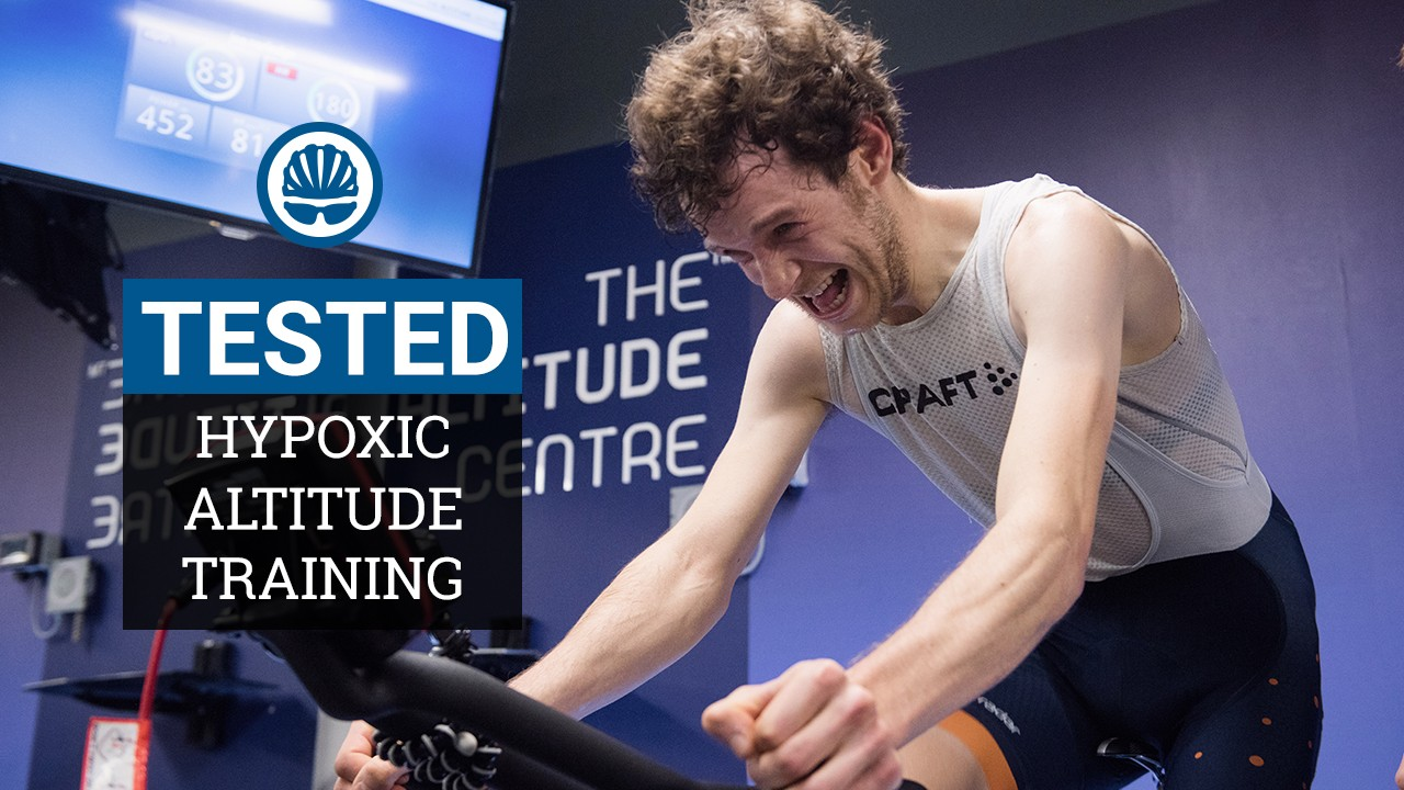 Joe trained at altitude for six weeks using a hypoxic generator