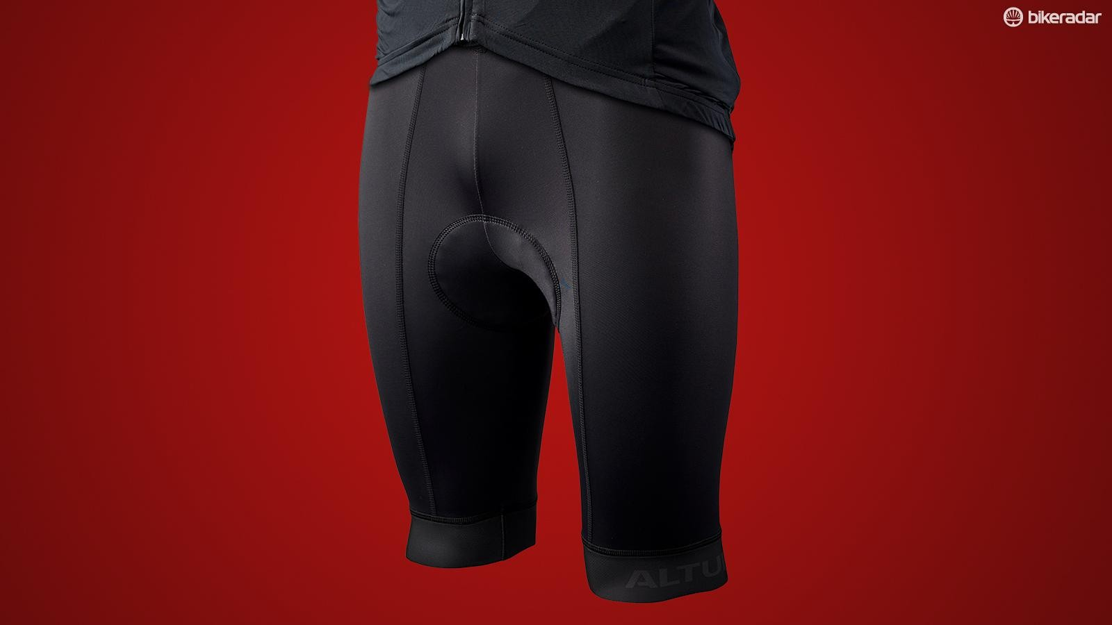 The bib shorts have a nice supportive fit