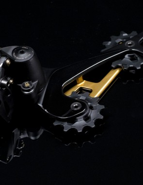 Having a bigger cog requires a longer cage derailleur, but there are a whole host of other modifications too