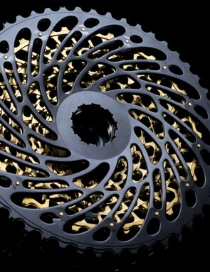 The first 11 cogs have the same jumps between gears as 11spd, but there's only a 19% jump from the 42t to the new 50t cog