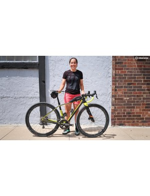 Two-time Queen of Kanza Amanda Nauman rode her Niner RLT 9 RDO to a second place finish this year