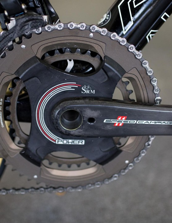 Greipel's SRM sure got a workout on the final sprint of Stage 1 at the Tour Down Under