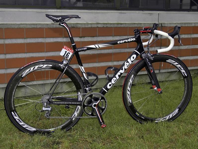 Andy Schleck's Tour de France Cervélo.