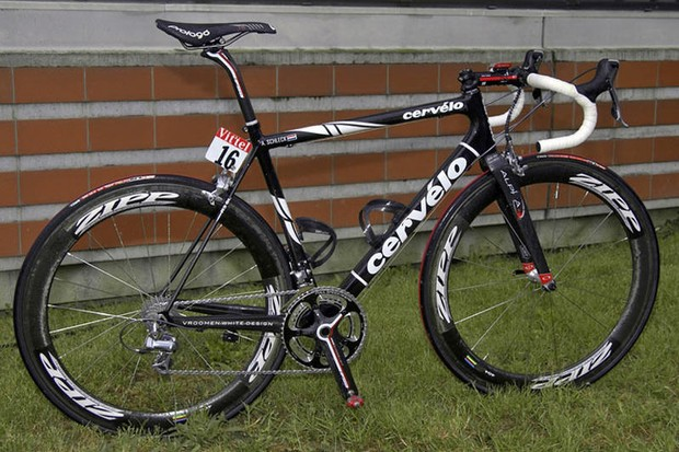Andy Schleck's Tour de France Cervélo.