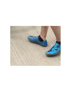 Ankle socks and cycling shoes... Just don't do it.