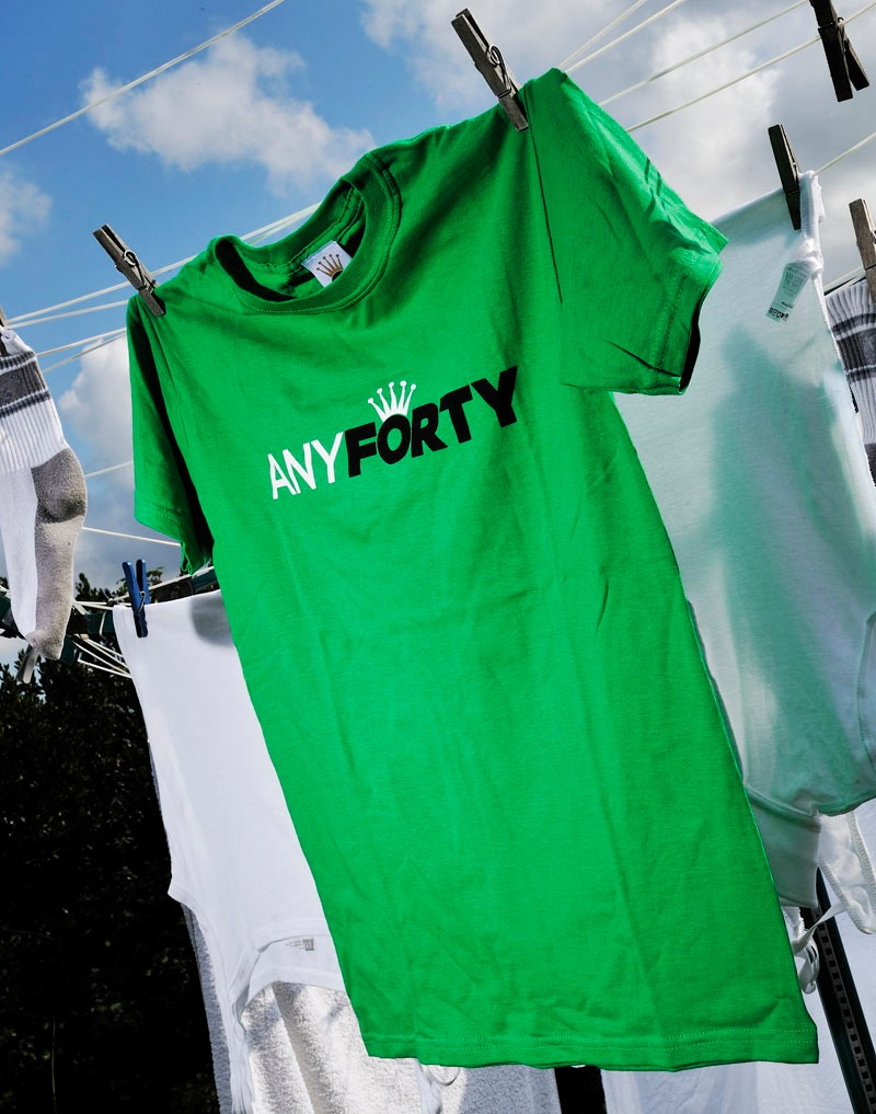 Any Forty t-shirt