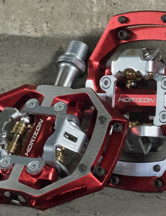 The Nukeproof CS pedals are aimed at trail and enduro riding