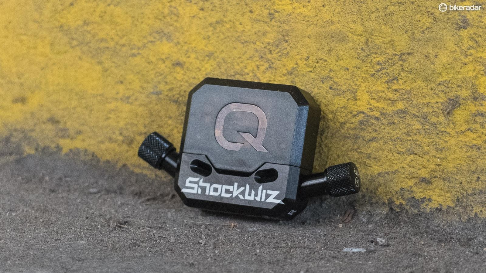 Get your suspension dialled to perfection with the Quarq Shockwiz