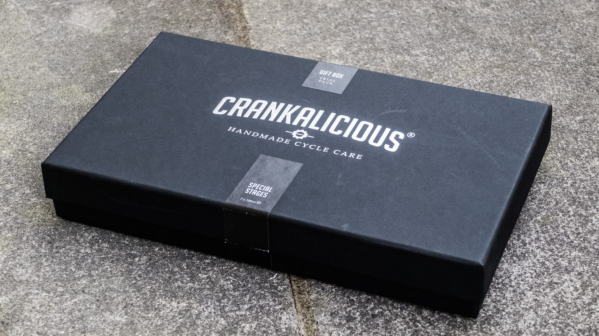 Is it a box of chocolate? Perhaps a gift of perfume inspired by that new bike smell?