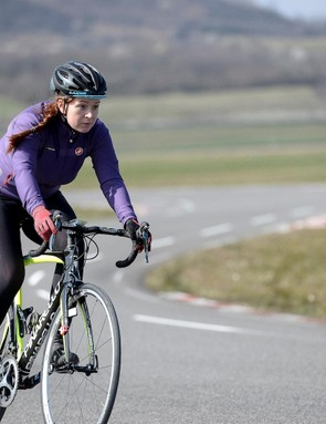Bikeradar had two reporters, Aoife Glass and Nick Legan, on site for the tire testing at Michelin's world headquarters
