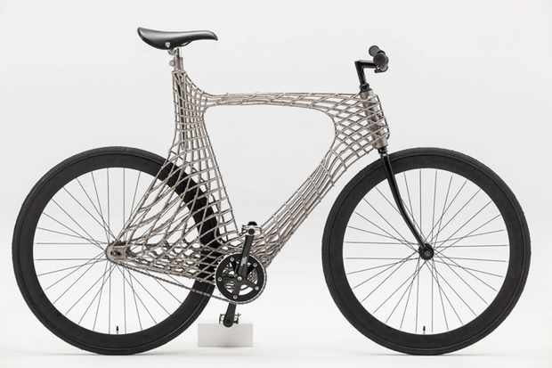 The Arc Bicycle: 3D printed, made by robots