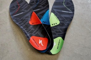 Specialized's Body Geometry insoles come with three levels of support
