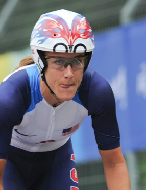 American Kristin Armstrong won gold in Beijing.