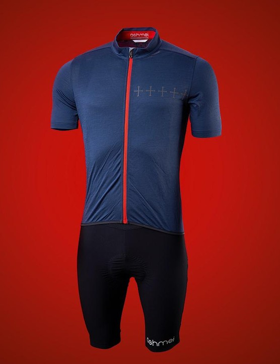 Ashmei's Croix De Fer jersey and bib shorts