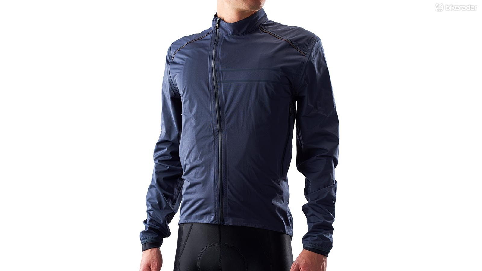 The Ashmei waterproof jacket is stretchier than most