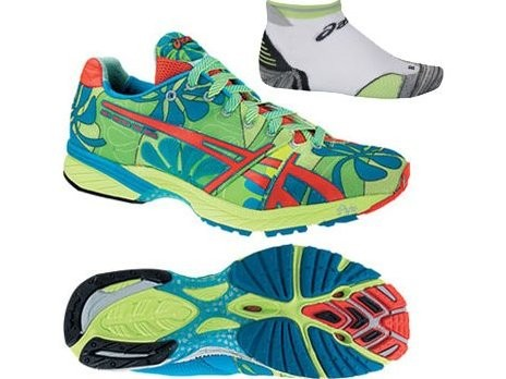 Asics GEL Noosa 25th Shoes With Free Barrios Socks