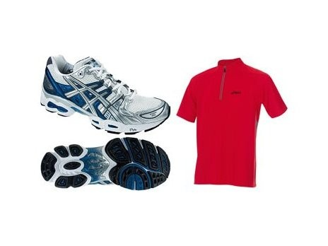Asics GEL Nimbus 9 Shoes With Free T-Shirt