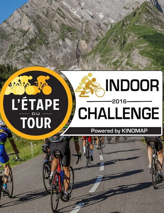 Ride or race climbs of L'Etape du Tour with Kinomap