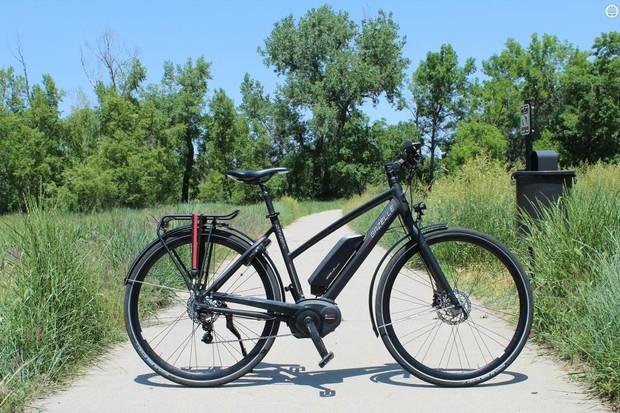 The Gazelle Cityzen is a pedal-assist e-bike, with a Bosch motor
