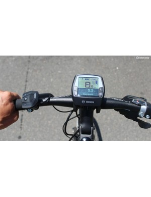 The switch left controls the amount of assistance the bike provides