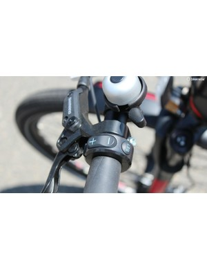 Configurations vary by brand, but virtually all pedal-assist bikes have a +/- control of some sort
