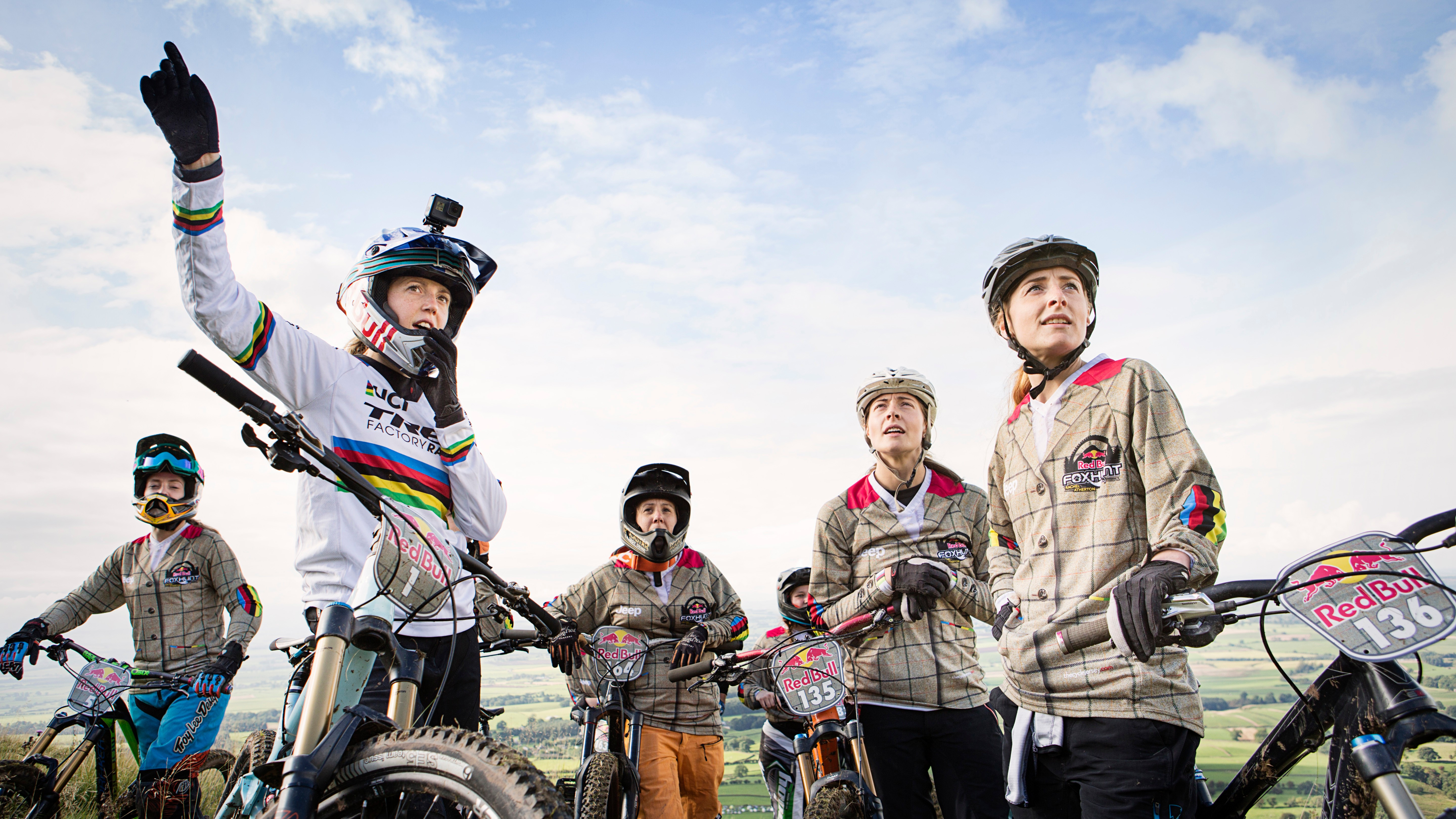 The Red Bull Foxhunt gives many women their first taste of racing in a welcoming and fun atmosphere