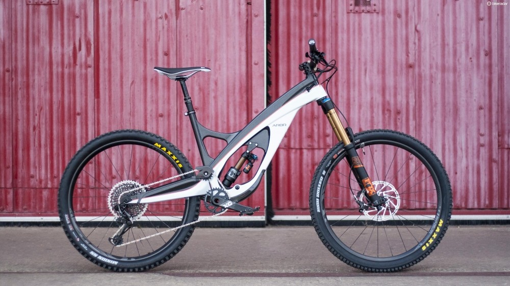 The most distinctive mountain bike on the market, maybe