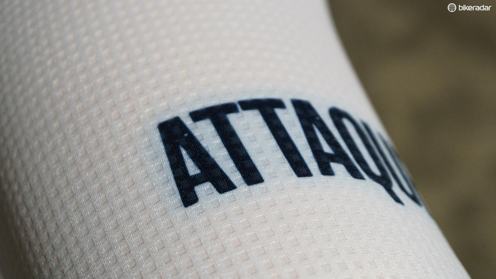 There looked to be a slight bleeding of colour around some of the details on the jersey