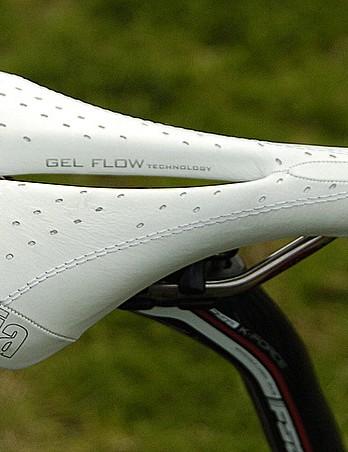 Selle Italia's gel Flite saddle.