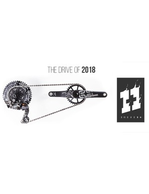 The new EThirteen Shimano mixed drivetrain is being dubbed Eleven plus by YT