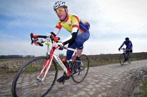 The Paris-Roubaix Challenge allows amateurs to test their nerves on some of cycling's most famous cobbles