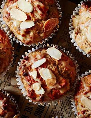 These tasty muffins combine the sweetness of banana with the protein-rich crunch texture of nuts