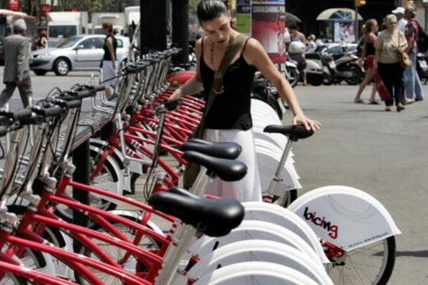 Barcelona's Bicing scheme is just one of the European rental projects