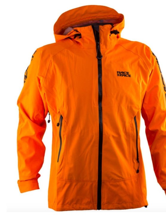 Bring a little sunshine into a grey day with the bright Chute jacket from Race Face