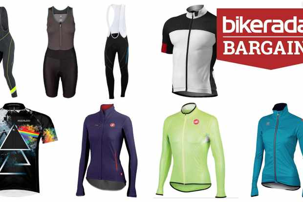 Bargain road cycling clothing for men and women
