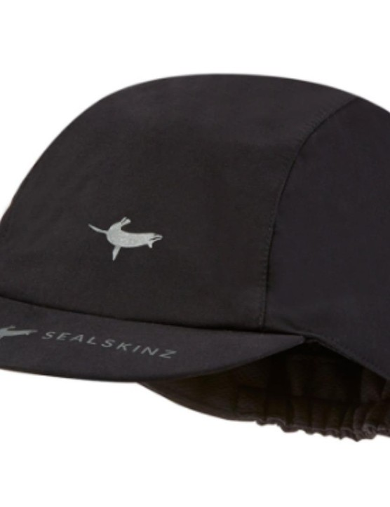 A waterproof cycling cap? Genius, we say. This one is from Sealskins.