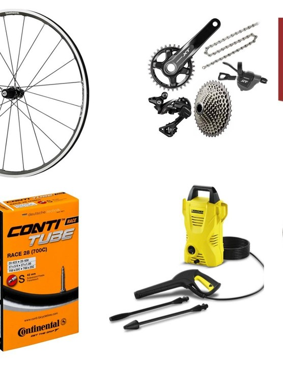 From cleaning kit to new parts, cheap cycling gear to keep you covered this autumn