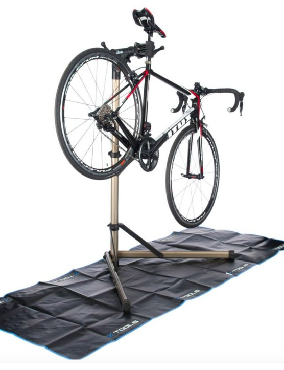 X-Tools bike work stand and mat