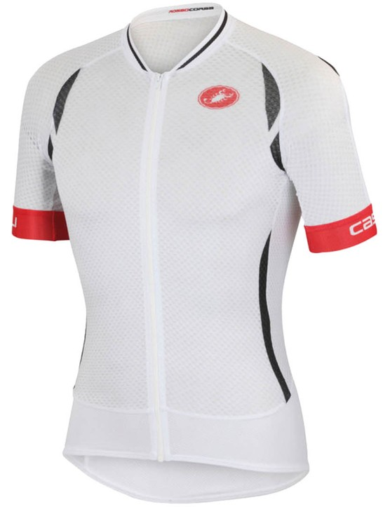 A super-fine, lightweight and breathable performance jersey for hot conditions