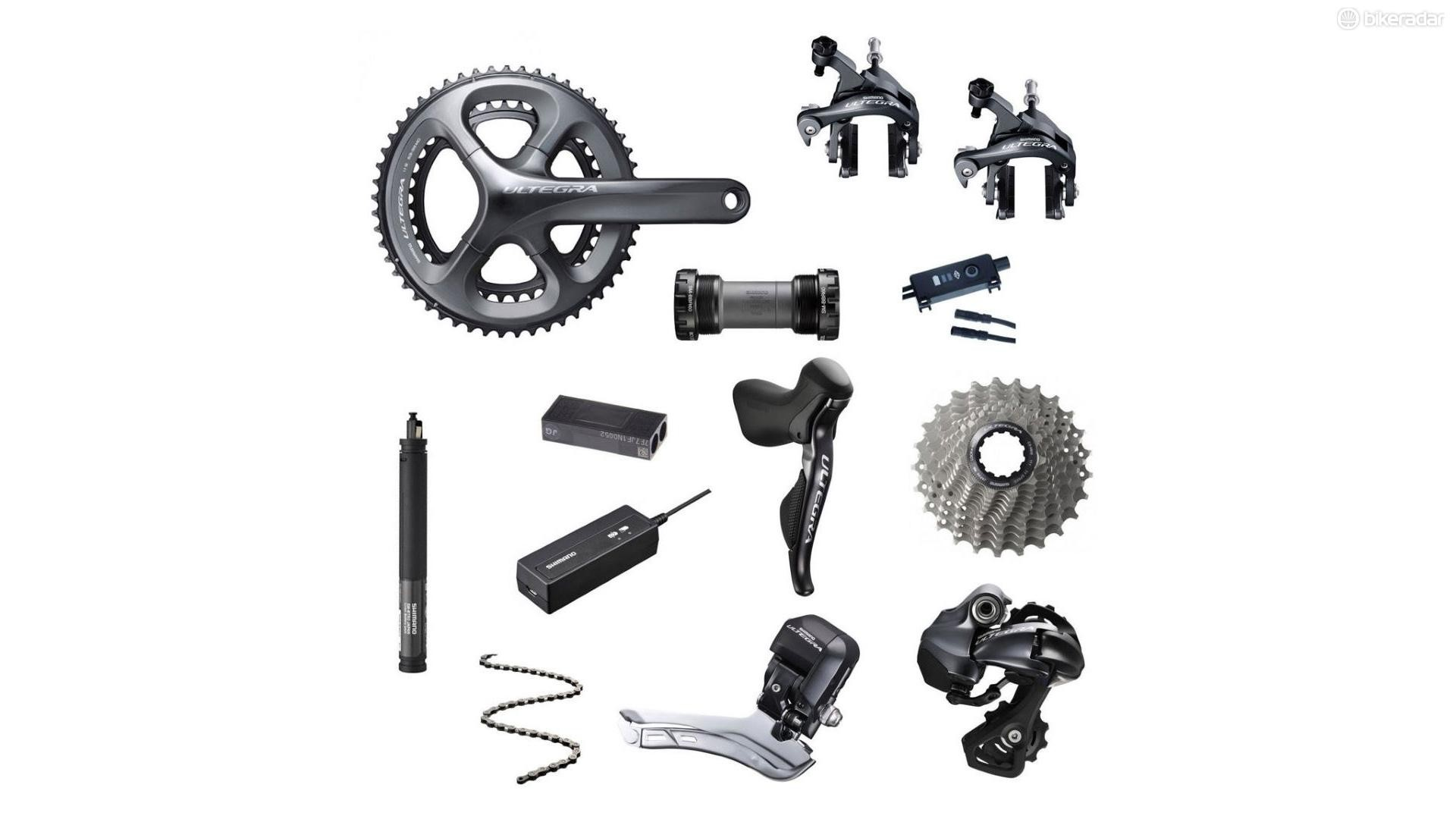 Time to go electric with this Ultegra Di2 set