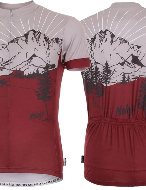 Not your run of the mill jersey! The JeffM. has a rather cool, printed designed