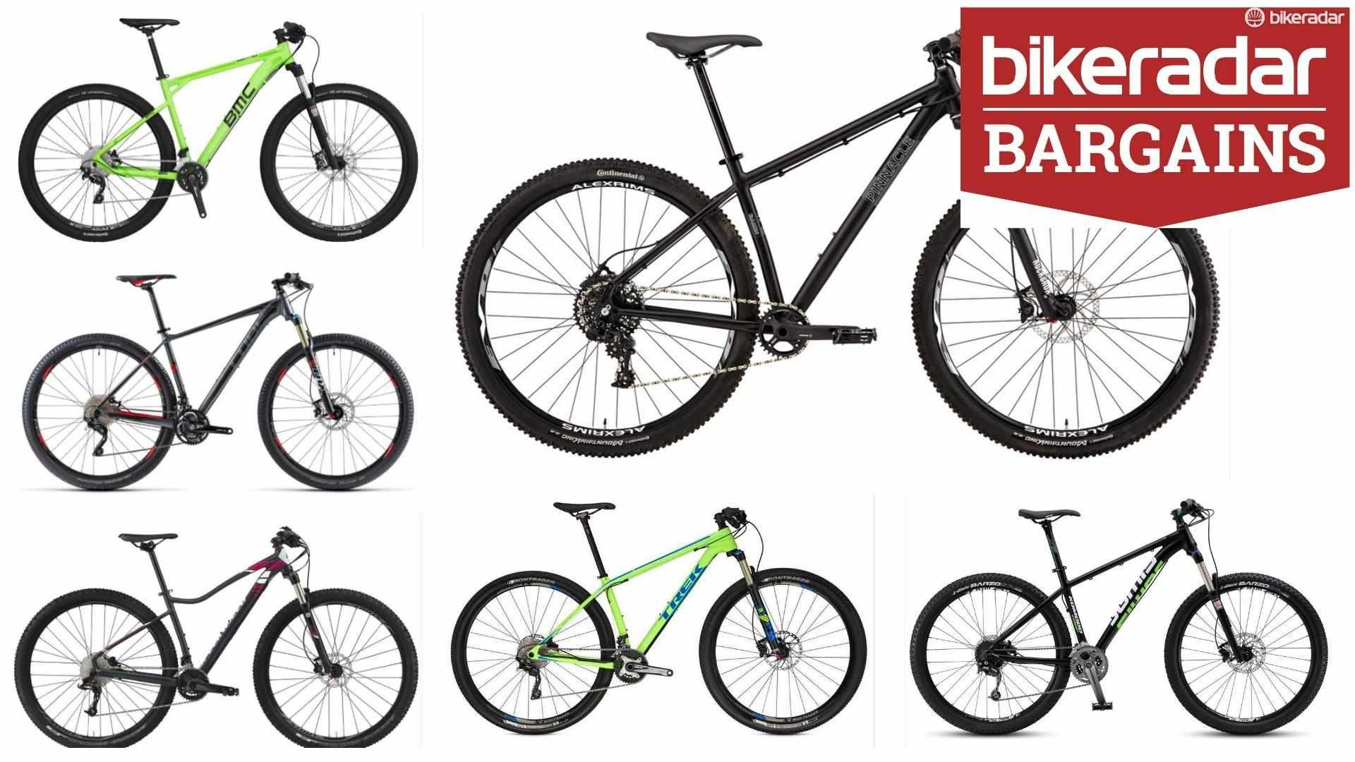 Bargain mountain bikes