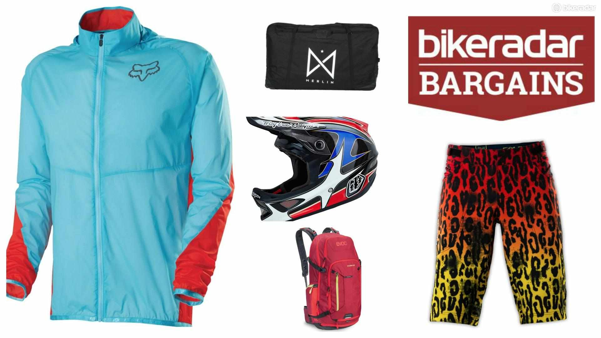 Save some money on your bike kit, have more money for your MTB holiday. Simples!