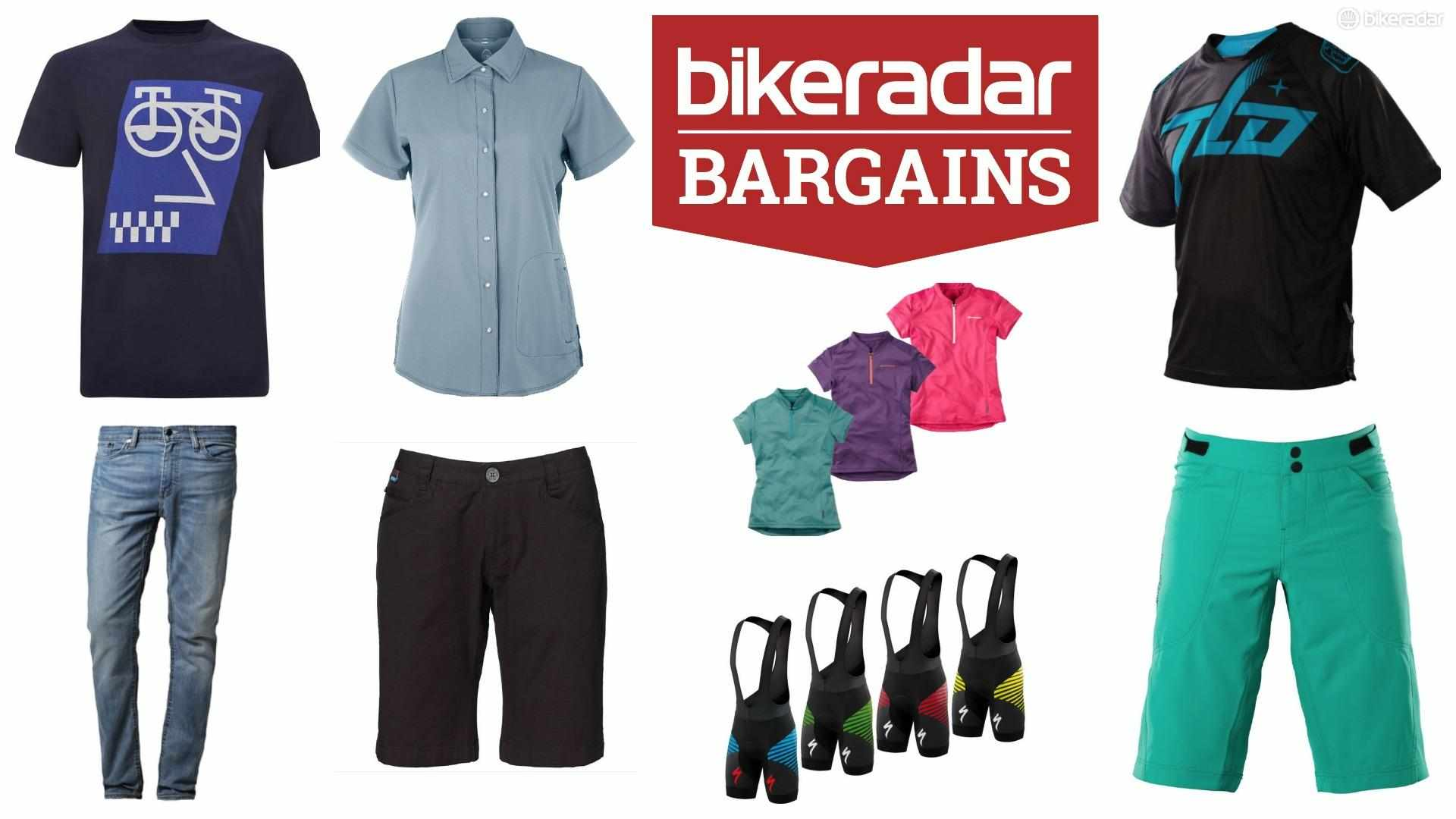 Grab some bargain spring cycling kit