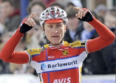 Team Barloworld's Enrico Gasparotto wins stage 1 of 3 days of De Panne.