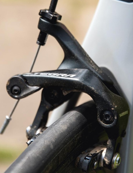 Shimano Ultegra brakes with Microtech pads could be better in wetter weather